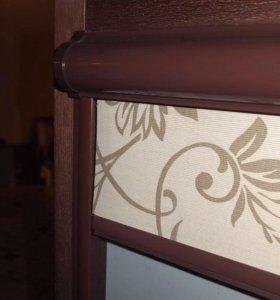 Рулонные шторы Уни на окна