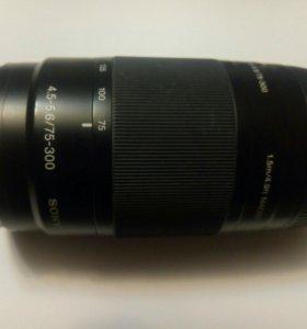 Sony 75-300 mm F4.5-5.6