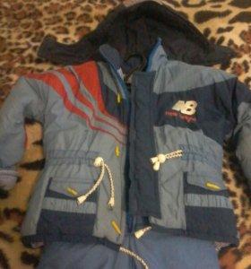 Куртка со штанами на 3-4 года