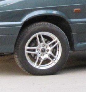 Литые диски r14 б/у