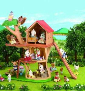 Sylvanian Families дерево дом арт. 2882