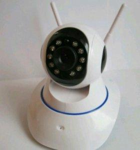 Поворотная IP камера с удалённым доступом