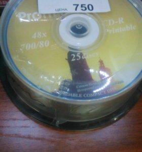 Диск CD-R PROFILINE printable