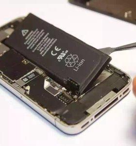 Замена аккумуляторной батареи на iPhone 4S