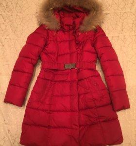 Зимнее тёплое пальто