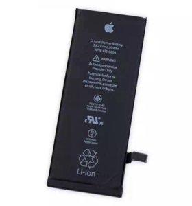 Замена аккумуляторной батареи на iPhone 6