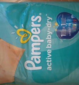 Подгузники Pampers Active baby 5(11-18кг)