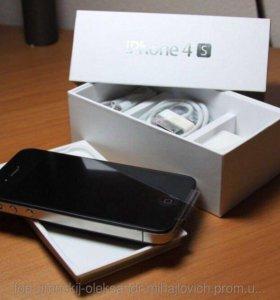 Новый iPhone 4s 16gb black