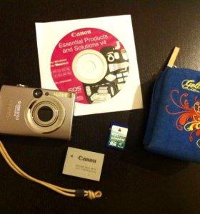 Цифровой фотоаппарат Canon (комплект)