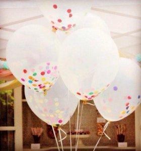 Воздушные,Гелиевые шарики.Композиции из шаров.