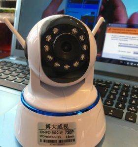 Камера видеонаблюдения wi-fi новая