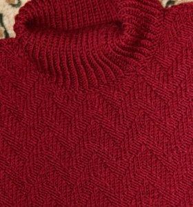 Джемпер ручной вязки.подойдет от 52до60р.