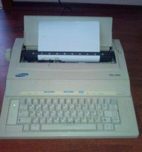Пишущая машинка Samsung SQ - 1000