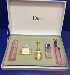 Духи мини Dior в подарочной упаковке
