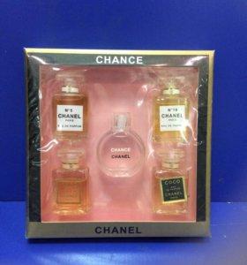 Духи CHANEL   Мини в подарочной упаковке