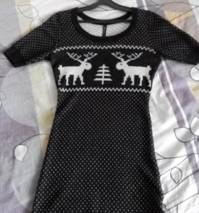 Платье ; Туника (трикотаж)