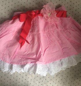 Новая юбочка для девочки 130-140