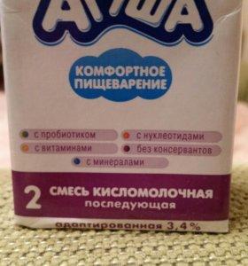 Агуша смесь кисломолочная 2