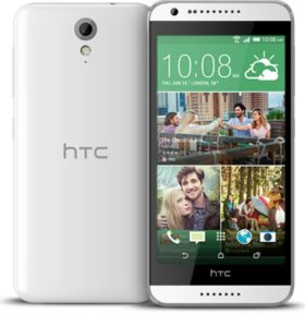 Телефон HTC Desire 620G Dual SIM  (Белый)
