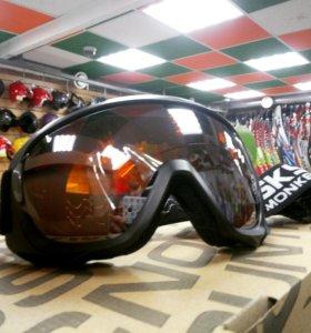 Очки горнолыжные/мото/сноубордические новые