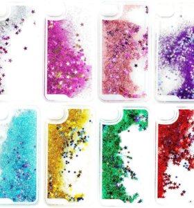 Жидкие накладки на айфон 4,4s