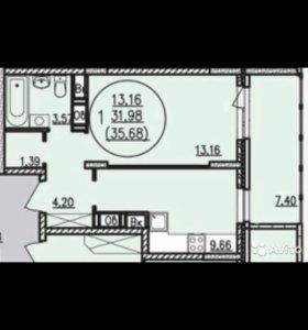 Квартира 1 - комнатная