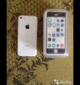 Продам IPHONE 5c на 16 G