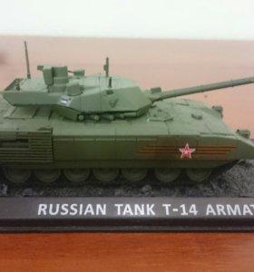 Коллекционная модель танка ARMATA