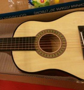 Классическая гитара дети 6+
