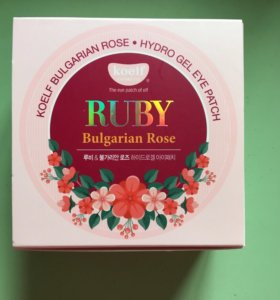 Маска для глаз Koelf Ruby Bulgarian Rose