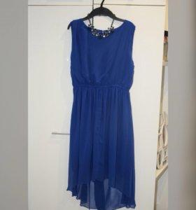 🔥Шифоновое платье со шлейфом🔥