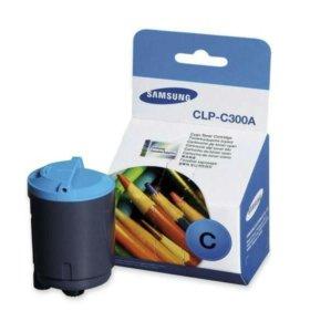 Картридж синий к принтеру Samsung CLP300