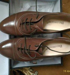 Ботинки новые 38