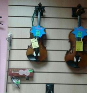 Скрипки и аксесуары