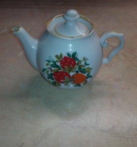 Чайник заварочный маленький б/у