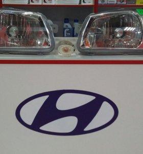 Фары передние Hyundai Accent