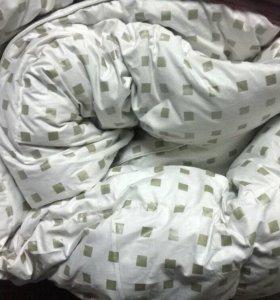 Пуховое одеяло новое