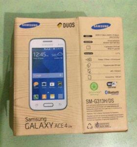 Коробка и чек на Samsung Galaxy Ace 4 lite SM-G313