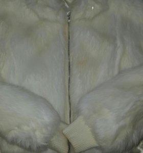 Женский меховой куртка