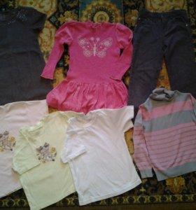 Одежда для девочки на 4-5 лет