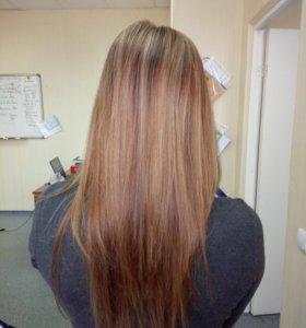 Коллагеновое обвёртывание волос