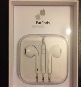 Оригинальные наушники для Apple EarPods