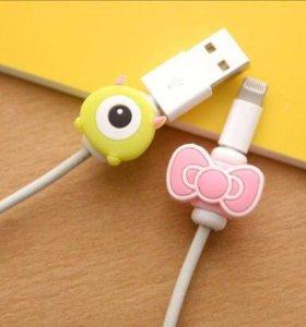 Защитное приспособление для кабеля зарядки iphone