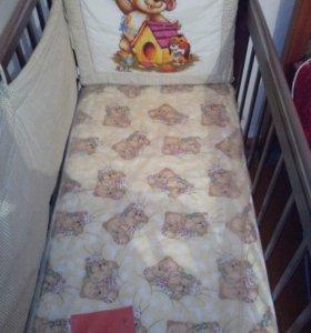 детская кроватка. 89284797382