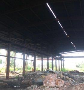 Каркас металлического здания