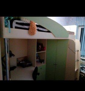Кровать- чердак