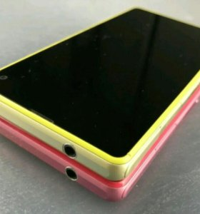 Sony Xperia Z1 compact Pink and Yellow