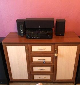 Музыкальная система Hi-Fi Yamaha + Pioneer