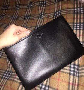 Чёрный клатч  (сумка)