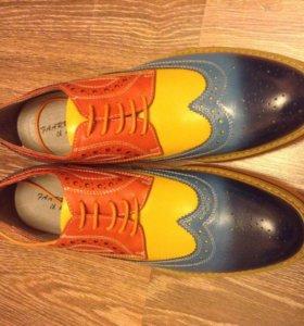 Новые модные туфли оксфорды 43-44 размер